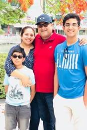 Mr Hanley Thomas & Family